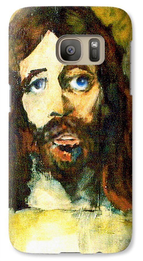 Jesus Christ Galaxy S7 Case featuring the painting The Galilean by Seth Weaver