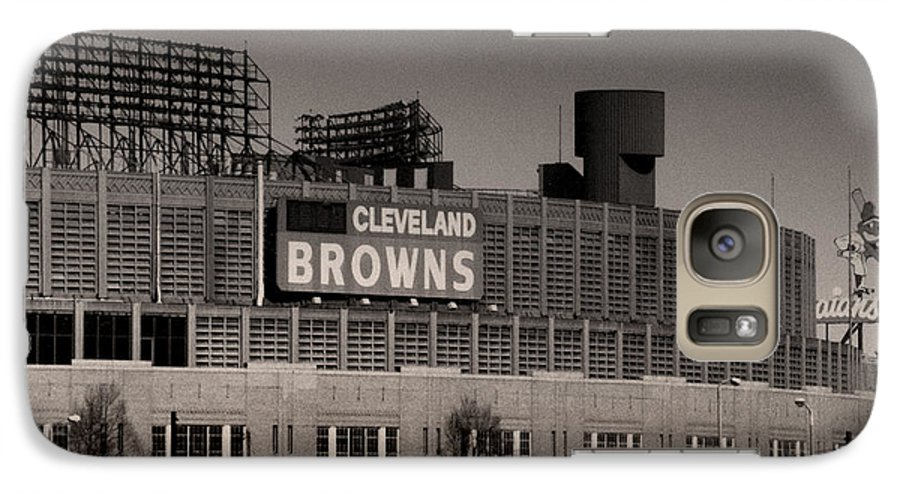 Cleveland Galaxy S7 Case featuring the photograph The Hometeams by Kenneth Krolikowski
