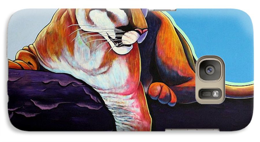 Wildlife Galaxy S7 Case featuring the painting The Toll Collector by Joe Triano