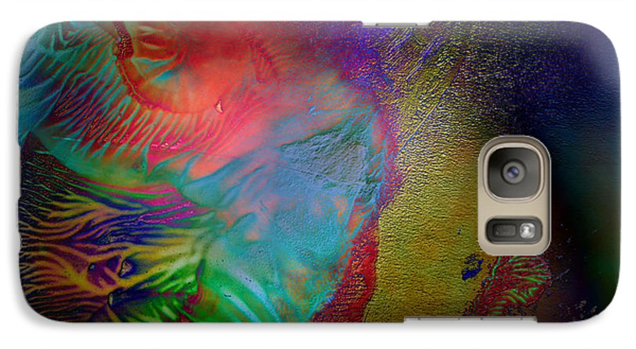 Surrealism Galaxy S7 Case featuring the digital art Topology Of Decalcomania by Otto Rapp