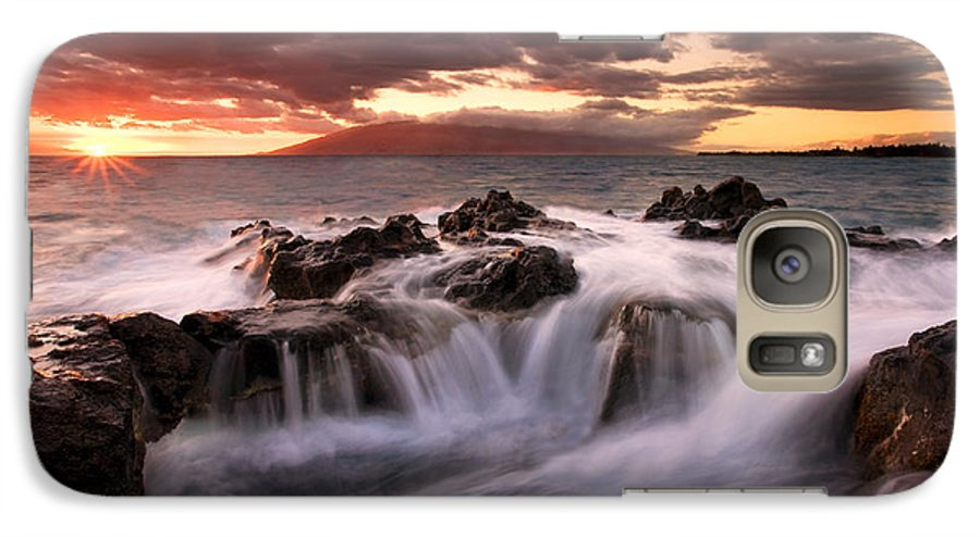 Hawaii Galaxy S7 Case featuring the photograph Tropical Cauldron by Mike Dawson
