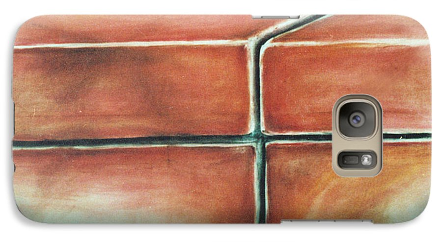 Galaxy S7 Case featuring the painting Washing Machines by Philip Fleischer
