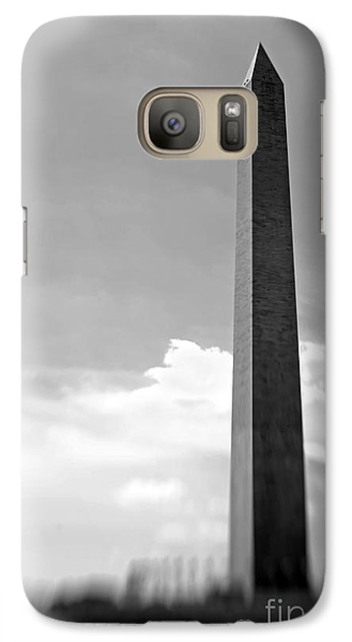 Washington Galaxy S7 Case featuring the photograph Washington Monument by Tony Cordoza