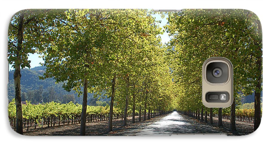 Napa Galaxy S7 Case featuring the photograph Wine Country Napa by Suzanne Gaff