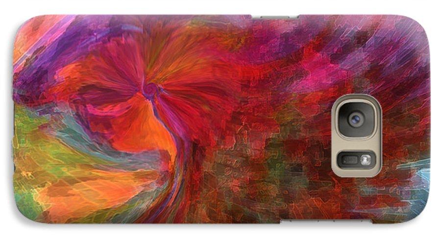 Woman Art Galaxy S7 Case featuring the digital art Women by Linda Sannuti
