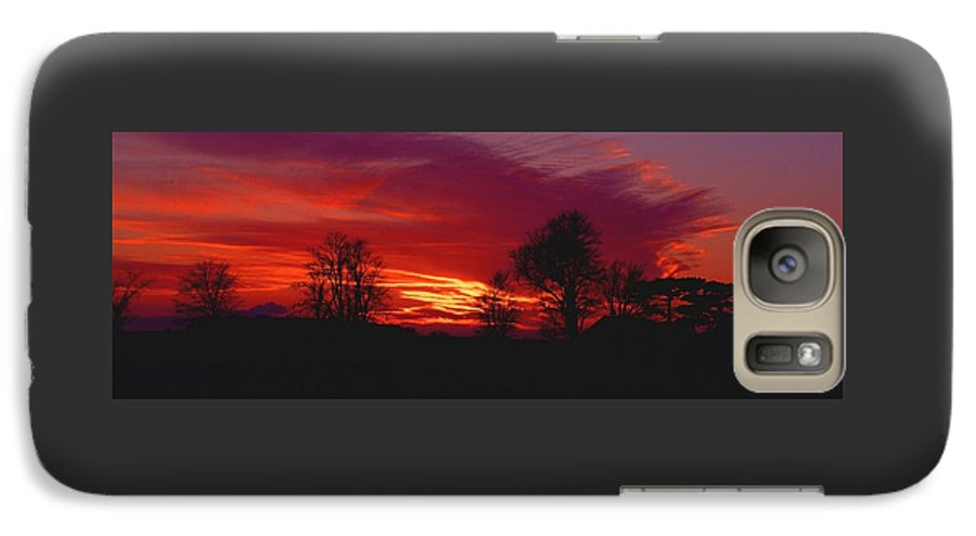 Sunset Galaxy S7 Case featuring the photograph 022107-37 by Mike Davis