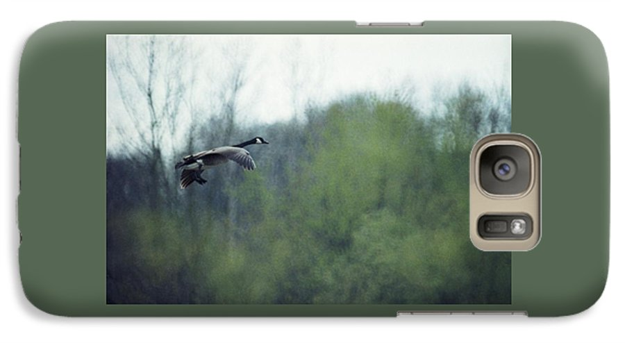 Canada Goose Galaxy S7 Case featuring the photograph 070406-40 by Mike Davis
