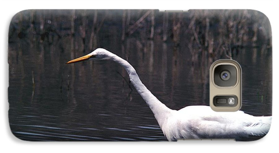 Great Egret Galaxy S7 Case featuring the photograph 070406-8 by Mike Davis