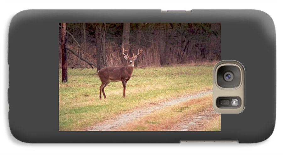 Deer Galaxy S7 Case featuring the photograph 070506-17 by Mike Davis