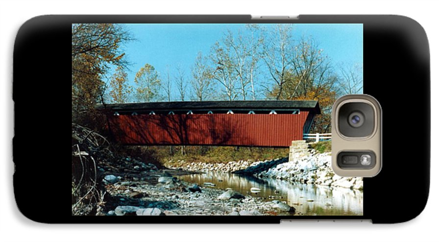 Bridge Galaxy S7 Case featuring the photograph 072106-31 by Mike Davis