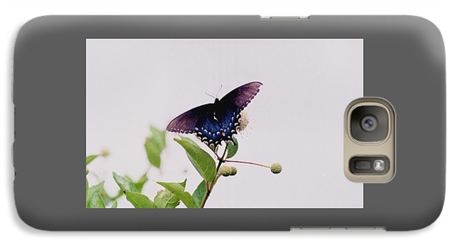 Butterfly Galaxy S7 Case featuring the photograph 080706-5 by Mike Davis