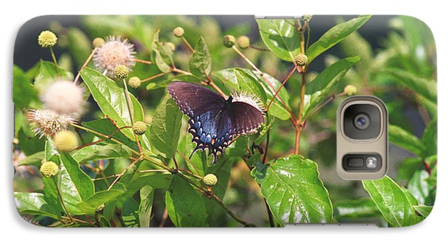 Butterfly Galaxy S7 Case featuring the photograph 080706-6 by Mike Davis