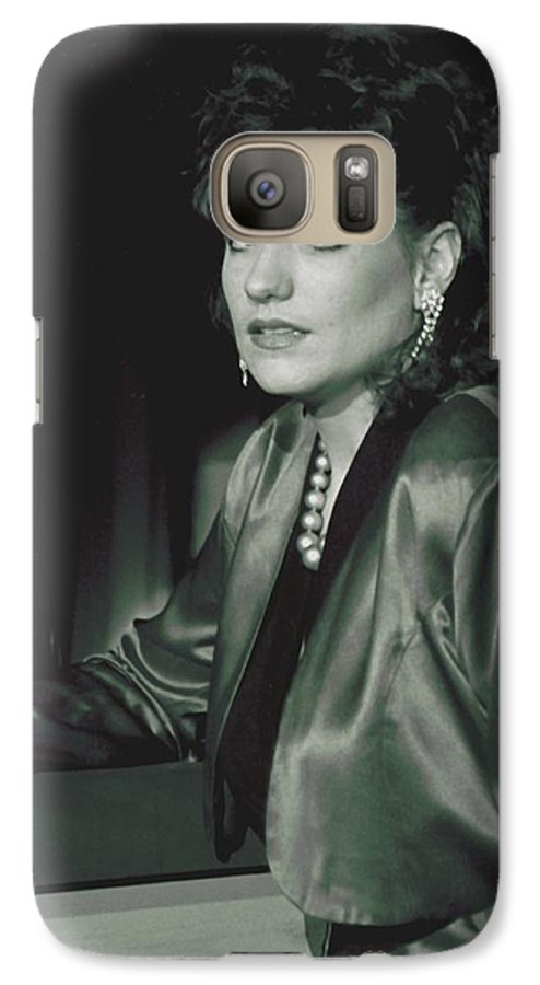 Portrait Galaxy S7 Case featuring the photograph 092508-3  Cheri by Mike Davis