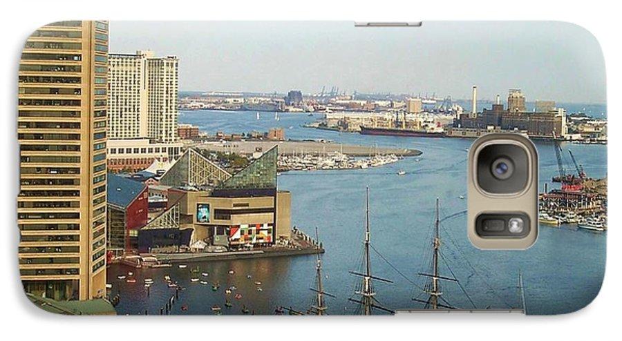 Baltimore Galaxy S7 Case featuring the photograph Baltimore by Debbi Granruth