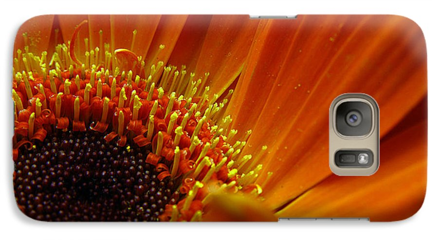 Clay Galaxy S7 Case featuring the photograph Floral by Clayton Bruster