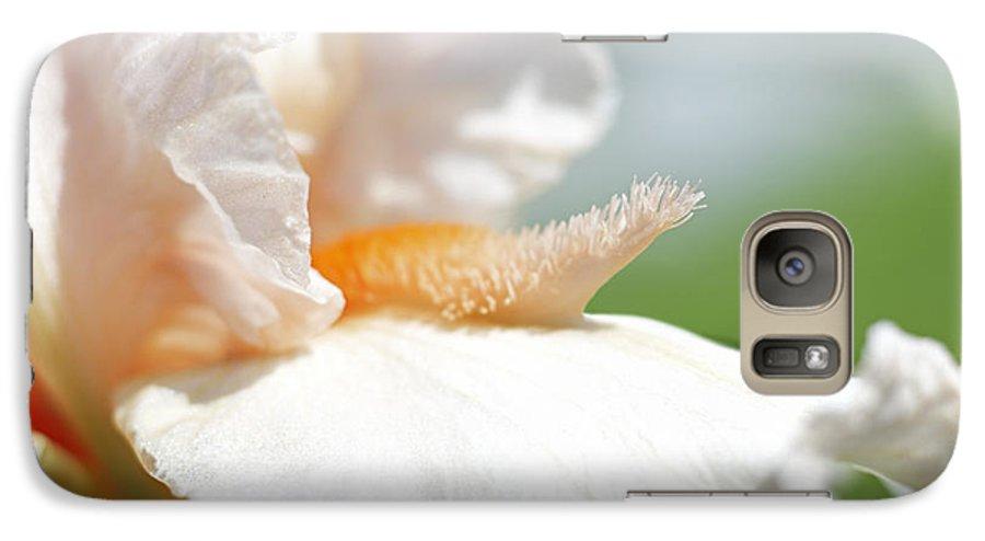 Genus Iris Galaxy S7 Case featuring the photograph Iris Flowers by Tony Cordoza