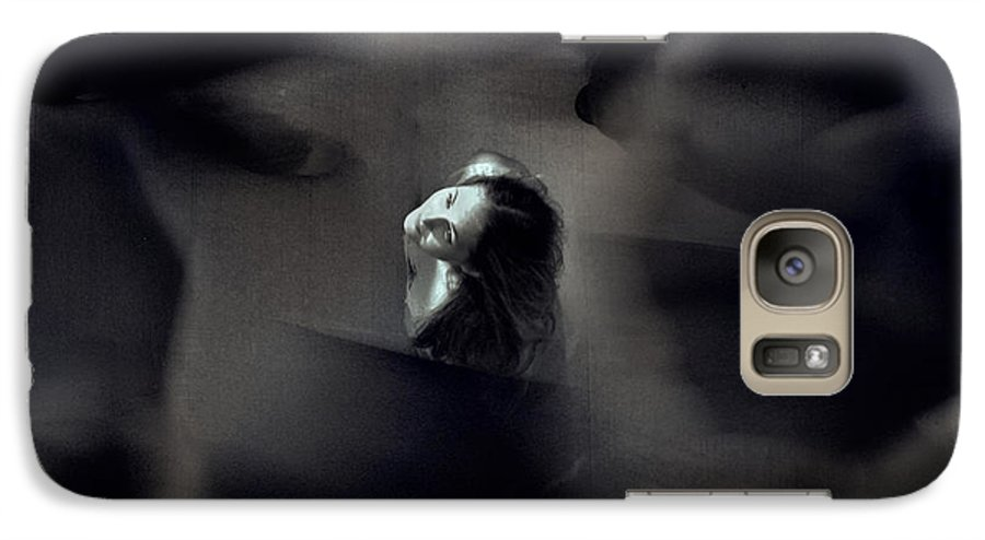 Street Galaxy S7 Case featuring the photograph Just For Today I Will Not Be Afraid by Dana DiPasquale