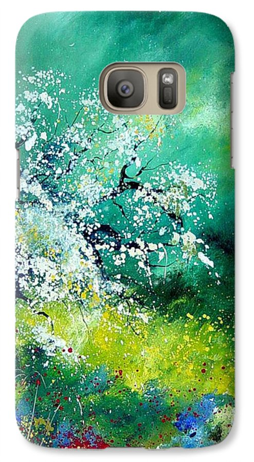 Flowers Galaxy S7 Case featuring the painting Spring by Pol Ledent