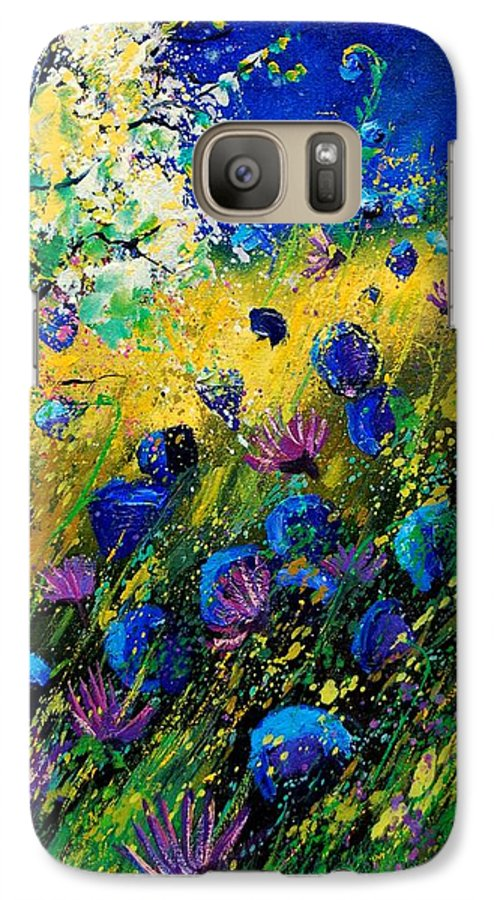 Poppies Galaxy S7 Case featuring the painting Summer 450208 by Pol Ledent