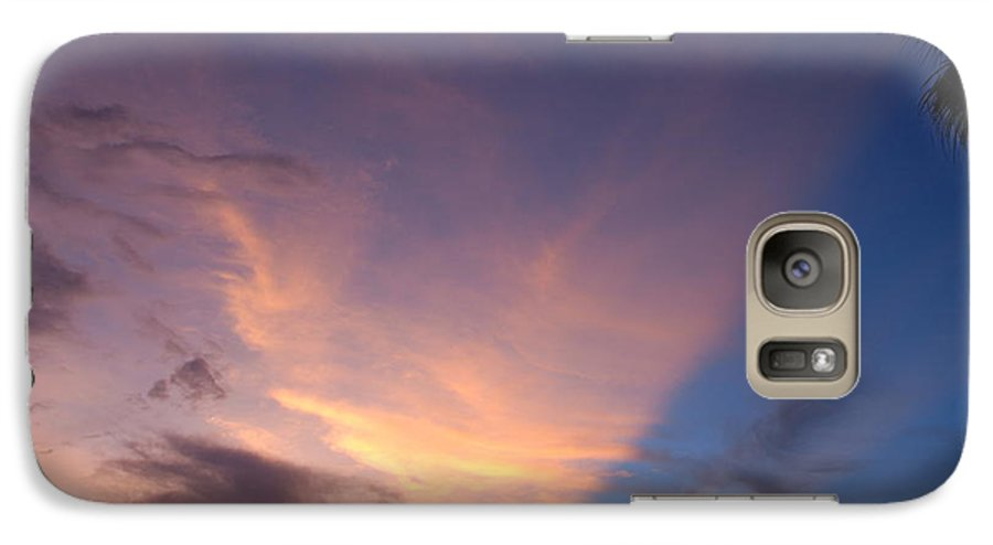 Sunset Galaxy S7 Case featuring the photograph Sunset At Pine Tree by Rob Hans
