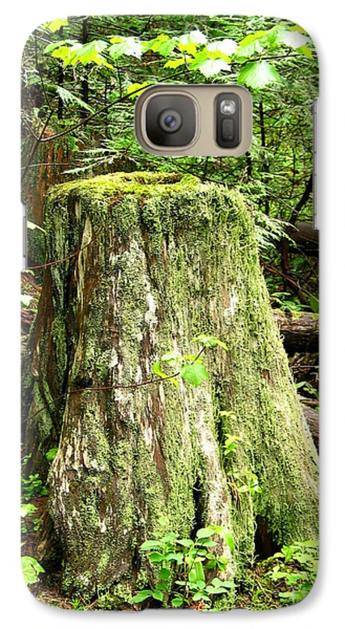 Moss Galaxy S7 Case featuring the photograph Transition by Idaho Scenic Images Linda Lantzy