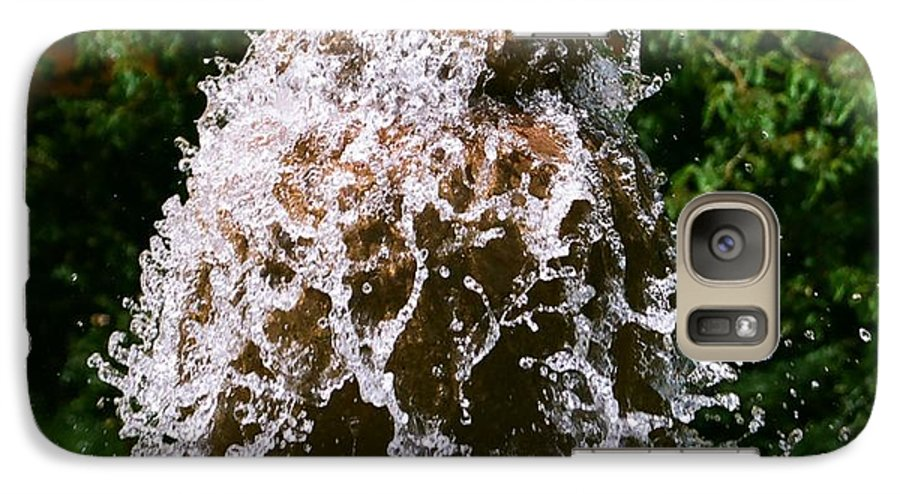 Water Galaxy S7 Case featuring the photograph Water Fountain by Dean Triolo