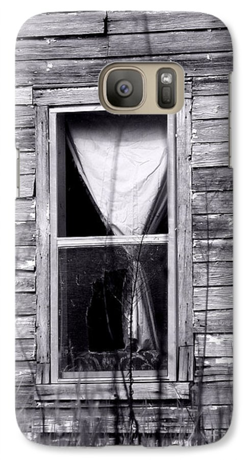 Windows Galaxy S7 Case featuring the photograph Window by Amanda Barcon