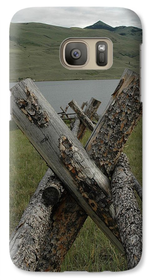 Landscape Galaxy S7 Case featuring the photograph Untitled by Kathy Schumann