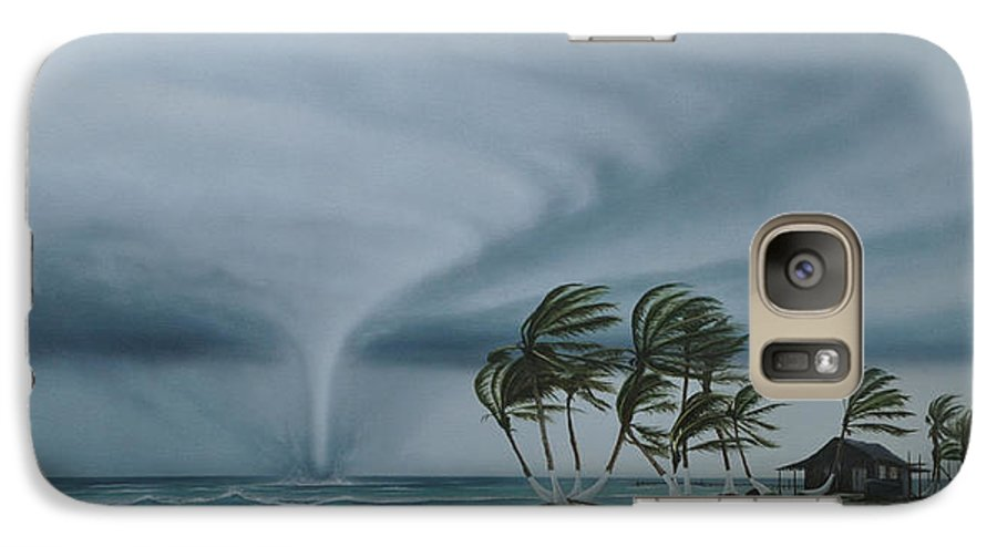 Galaxy S7 Case featuring the painting Mahahual by Angel Ortiz