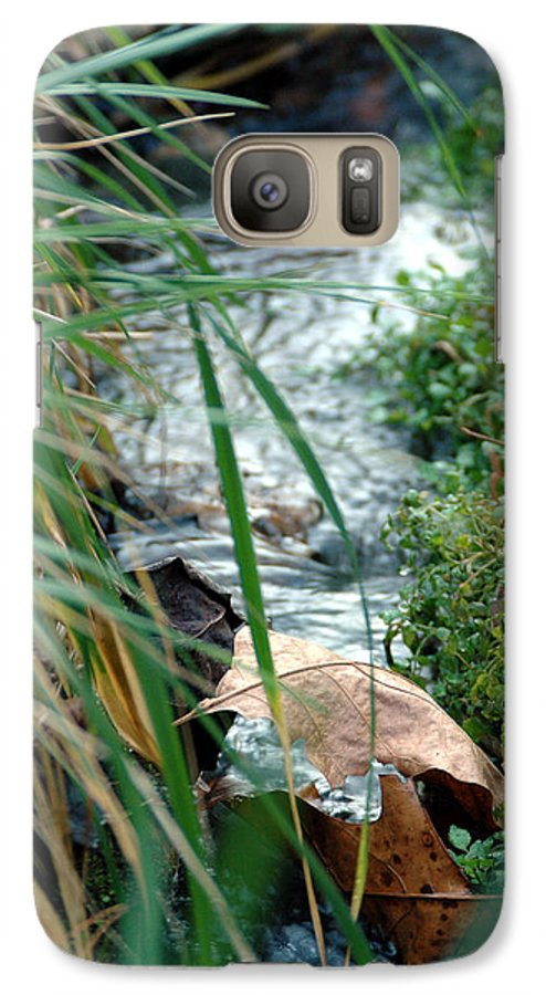 Stream Galaxy S7 Case featuring the photograph Untitled by Kathy Schumann
