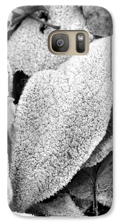 B&w Galaxy S7 Case featuring the photograph Untitled by Kathy Schumann