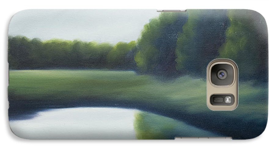 Clouds Galaxy S7 Case featuring the painting A Day In The Life 2 by James Christopher Hill