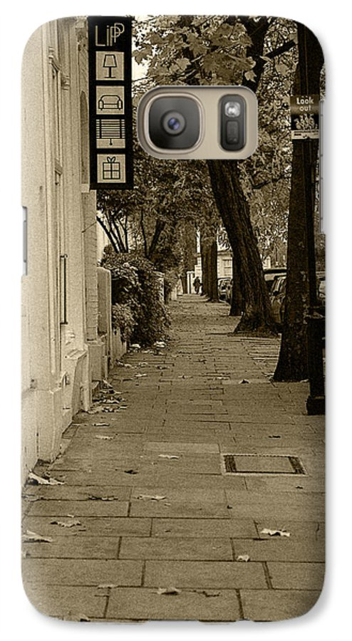 London Galaxy S7 Case featuring the photograph A London Street I by Ayesha Lakes