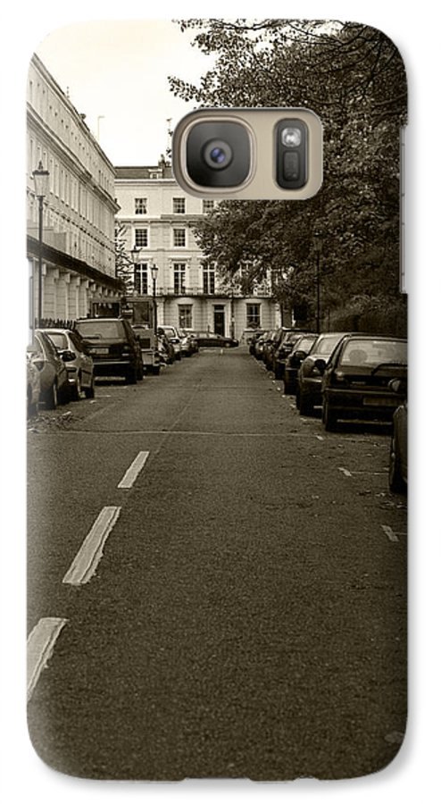Travel Galaxy S7 Case featuring the photograph A London Street II by Ayesha Lakes