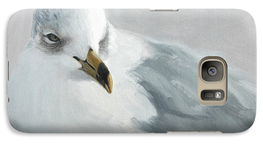 Painting Galaxy S7 Case featuring the painting A Quiet Morning by Greg Neal