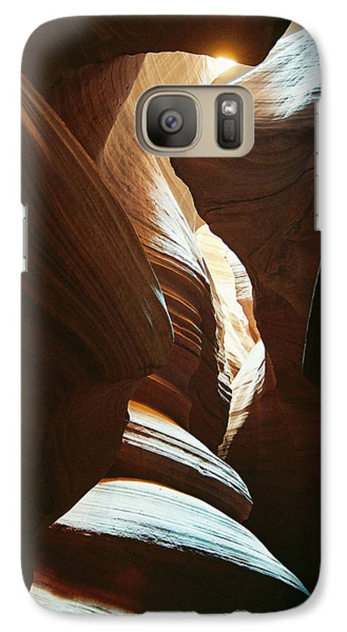 Arizona Galaxy S7 Case featuring the photograph A Spritual Light by Cathy Franklin