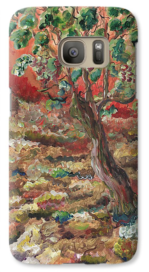 Abide Galaxy S7 Case featuring the painting Abide by Nadine Rippelmeyer
