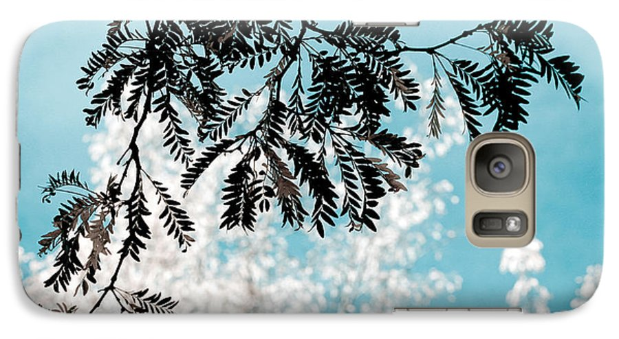 Tree Galaxy S7 Case featuring the photograph Abstract Locust by Marilyn Hunt