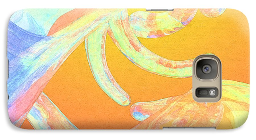 Abstract Galaxy S7 Case featuring the photograph Abstract Number 1 by Peter J Sucy