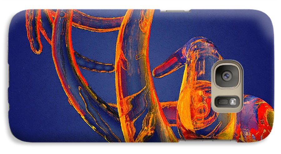 Abstract Galaxy S7 Case featuring the photograph Abstract Number 13 by Peter J Sucy