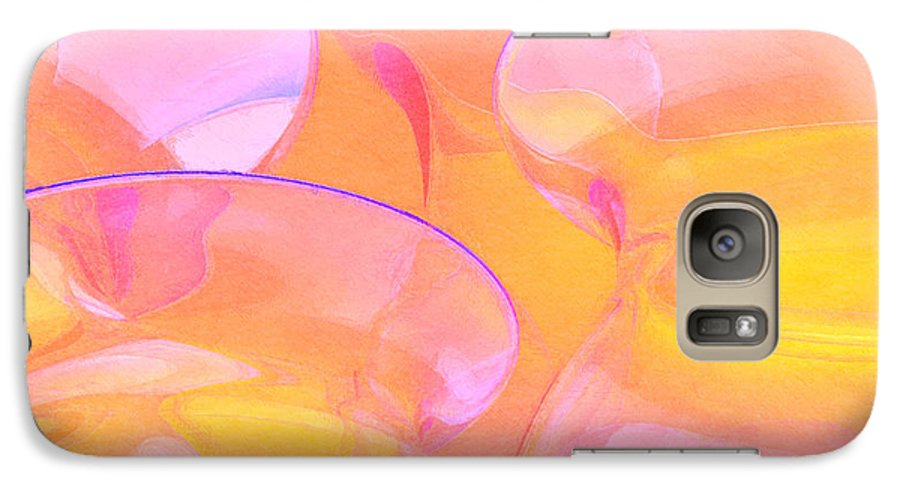 Abstract Galaxy S7 Case featuring the photograph Abstract Number 19 by Peter J Sucy