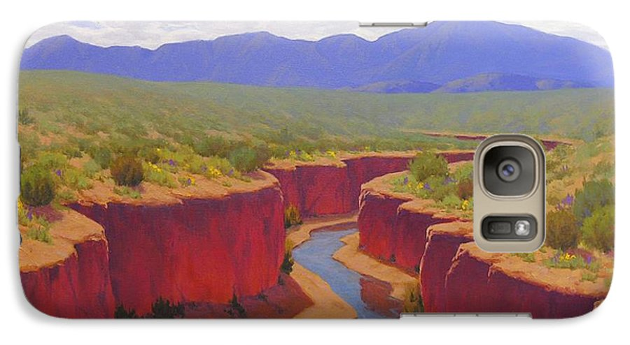 Cody Delong Galaxy S7 Case featuring the painting After The Rain by Cody DeLong