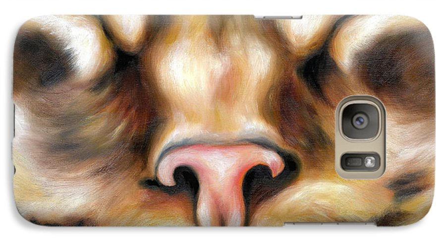 Cat Galaxy S7 Case featuring the painting Afternoon by Hiroko Sakai