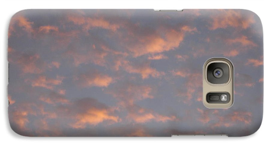 Skyscape Galaxy S7 Case featuring the painting Afternoon Sky 11 by Roger Cummiskey
