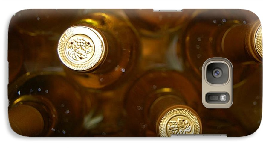 Wine Galaxy S7 Case featuring the photograph Aged Well by Debbi Granruth