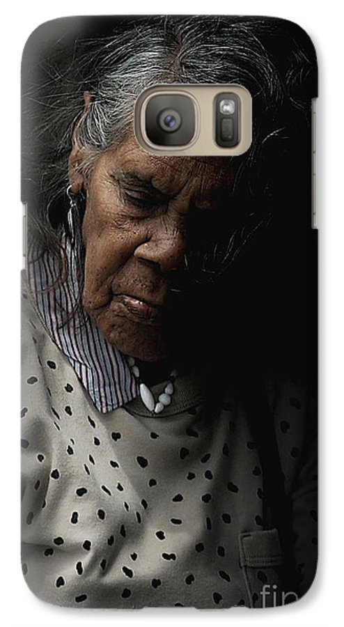 Portrait Galaxy S7 Case featuring the photograph Alice by Avalon Fine Art Photography