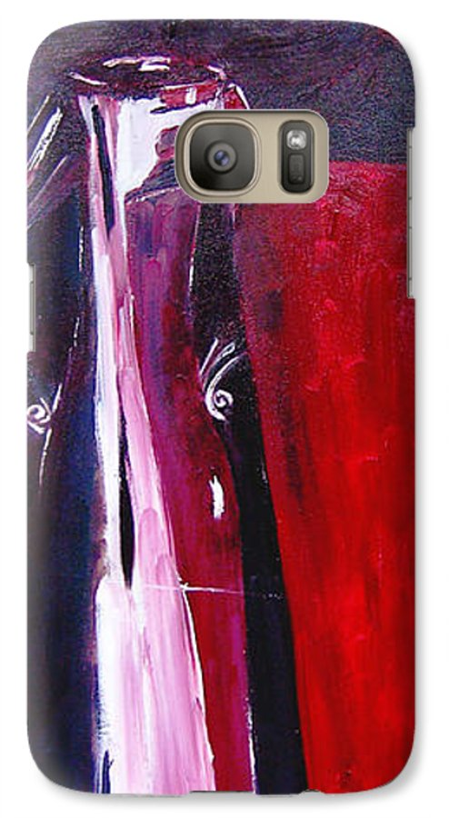 Figurative Galaxy S7 Case featuring the painting Almost Still Life by Olga Alexeeva
