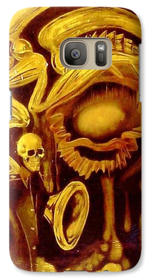 Birth Galaxy S7 Case featuring the painting Alpha Omega by Will Le Beouf