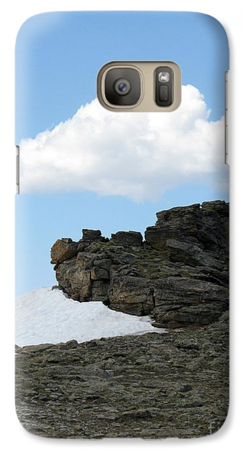 Rocky Mountains Galaxy S7 Case featuring the photograph Alpine Tundra - Up In The Clouds by Amanda Barcon