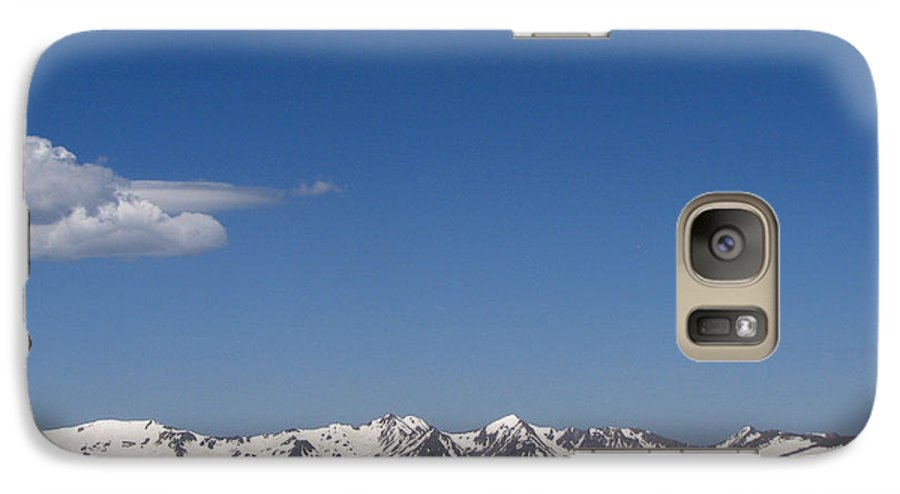 Mountains Galaxy S7 Case featuring the photograph Alpine Tundra Series by Amanda Barcon